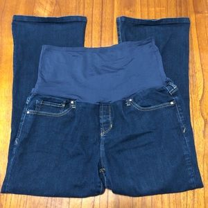 Gap maternity sexy boot cut jeans
